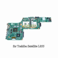 NOKOTION Mainboard For Toshiba Satellite L855 L850 Laptop Motherboard V000275440 DK10FG 6050A2509901 MB A02 HD4000 HD 7670M DDR3