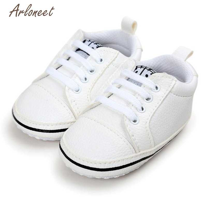 Detail Feedback Questions about 3 Colors First Walkers Lovely Baby Girl  Boys Frenulum Letter Shoes Sneaker Anti slip Shoes 2017 drop shipped ST26  on ... 95163da4f095