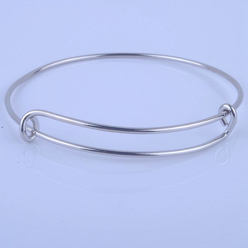 100pcs lot Hot Sale Metals Gold And Silver Plated DIY Bangle For Beads Or Charms