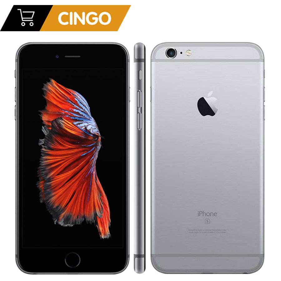 Desbloqueado Apple iPhone 6 s Plus/iPhone 6 s 2 GB RAM 16/64/128 GB ROM celular IOS telefone A9 Dual Core Câmera 12MP IPS LTE Telefone Inteligente