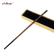 Stzhou Newest High Quality Harry Potter Metal Core Cedric Diggory Magical Wand With Gift Box Packing Christmas Cosplay Toy