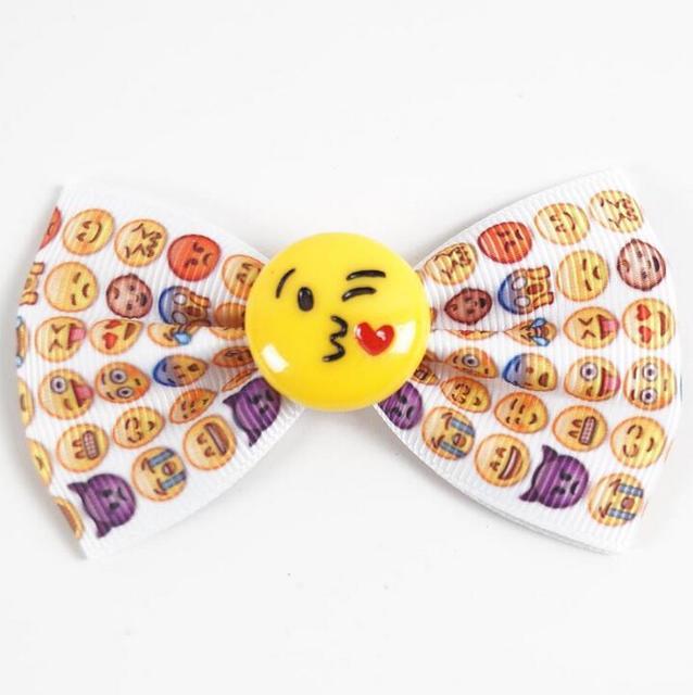 200 Teile Los Emoji Haarschleife Emoji Bogen Emoji Geburtstag