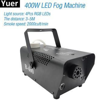 400W Fog Machine With 4Pcs LED RGB 3IN1 Lamp Equipment Wedding Party Stage Effect Lighting Fog Smoke Machine DJ Disco Par Light цена 2017