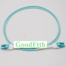 Fiber Patch Cords Jumpers LC LC Uniboot Multimode 50/125 OM3 Duplex Goodftth 1 15M