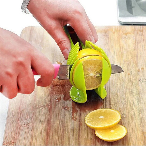 Tomato Slicer Clamp - Cut perfect slices without squashing it ! 1