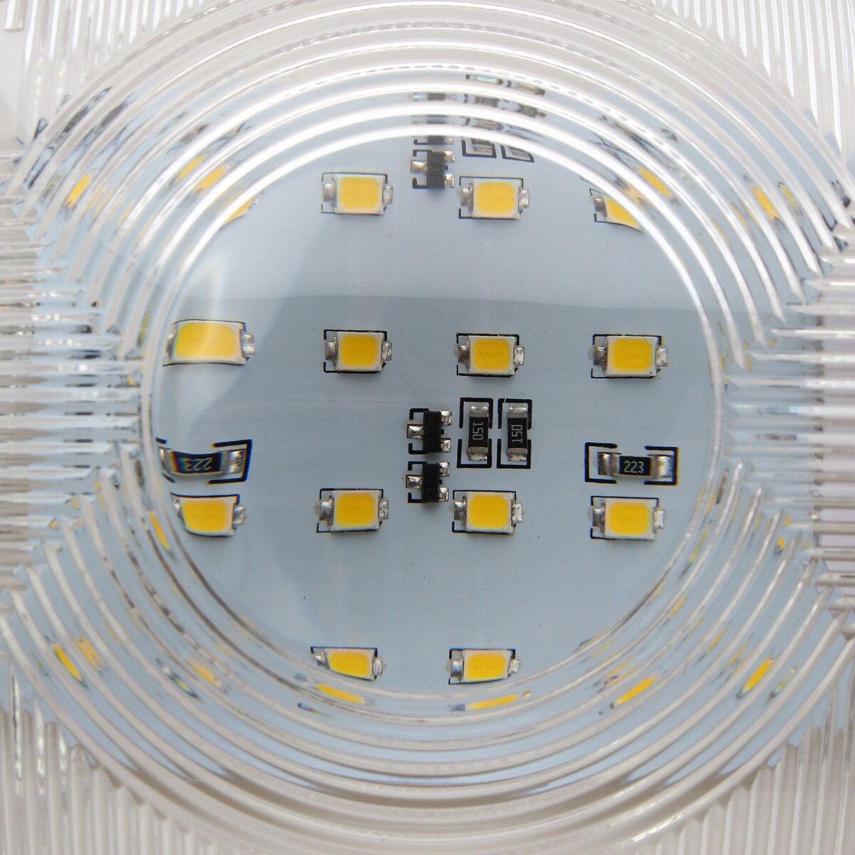 cupula luz de teto para rv barco reboque campista branco 03