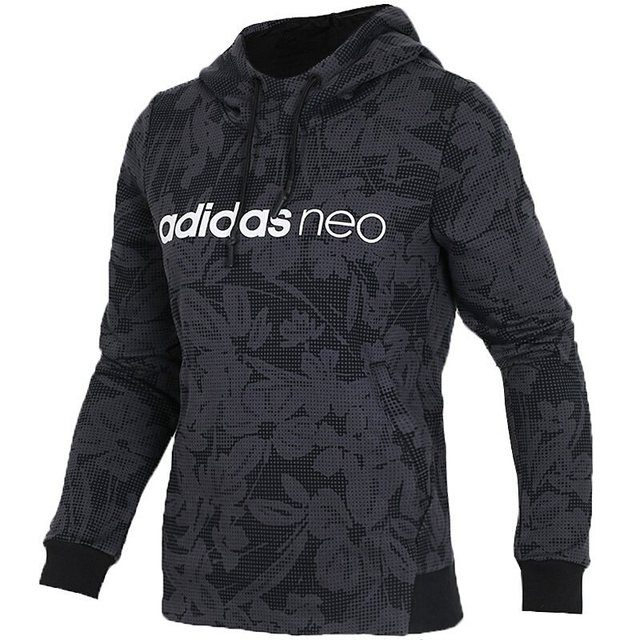 adidas neo 2018 black bluza