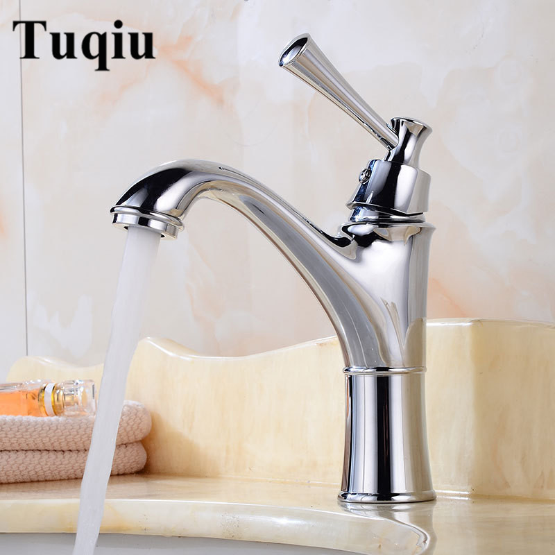 Basin Faucet hot and cold Sink Faucet Chrome single lever Wash Faucet Lavatory Mixer Crane bathroom sink faucet basin tap nickel brushed bathroom lavatory faucet hot and cold single lever ceramic handle bathroom basin faucet sink mixer tap