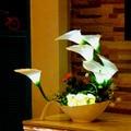 Led creativa floral luces decorativas, luces decorativas de aniones purificador de aire de ahorro de energía