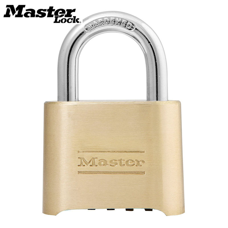 2476a9902a6e US $21.99 40% OFF|MASTER LOCK Tamper proof Anti corrosion Anti rusting  Waterproof Brass Password Combination Code Lock Padlock Anti theft-in Locks  ...