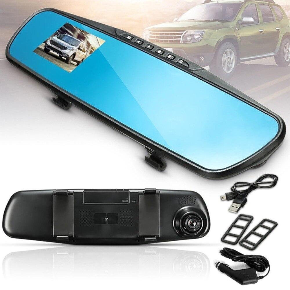 1080P Full HD Rückspiegel Nachtsicht Auto DVR Dash Cam 90 Grad Ansicht Engel Auto Video Recorder Automobil zubehör