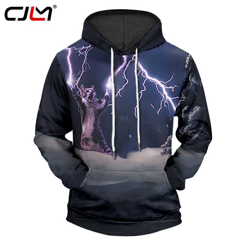 Buy CJLM Thunder Cat Hoodie 2017 New Harajuku 3d Print Women Hoodies Sweatshirts Cat Casual Hip Hop Streetwears Pullovers Unisex for $25.72 in AliExpress store
