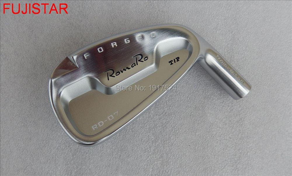 FUJISTAR GOLF RD 07 T P forged carbon steel with CNC golf iron head set 4