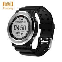 Rundoing Q6 GPS Smartwatch GPS Bluetooth 4.0 Smart Watch Sedentary Remind Information Push Heart Rate Monitor Pedometer
