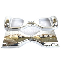 Pink Gold Sliver DIY Self Balance Bicycle Scooter Parts Outer Shell Plastic Cover Frame Accessory For