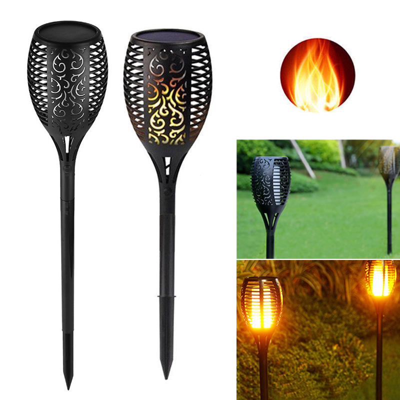 Solar Torch Light 96 leds Waterproof Solar Power LED Flame Light Outdoor Landscape Decoration Garden LampSolar Torch Light 96 leds Waterproof Solar Power LED Flame Light Outdoor Landscape Decoration Garden Lamp