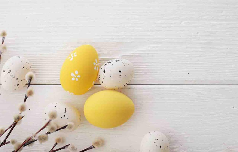 SHENGYONGBAO Art Cloth Custom Photography Backdrops Prop Wood Planks Easter day theme Photo Studio Background FG19607 9137 in Background from Consumer Electronics