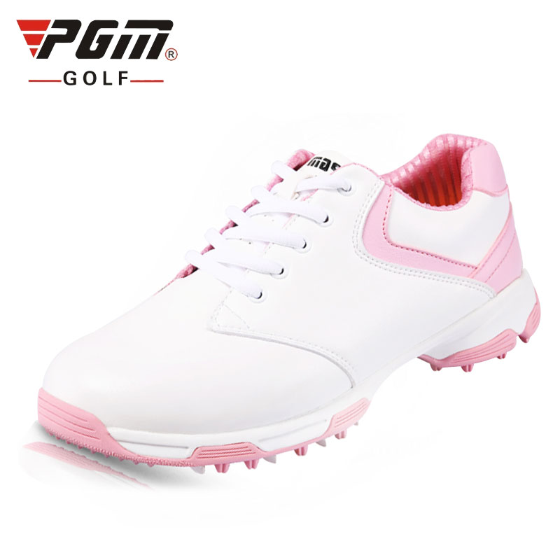 Professional Golf Shoes Women Waterproof High Quality Platform Sneakers Women Wearable Comfortable Sports Shoes AA10093 simulation mini golf course display toy set with golf club ball flag