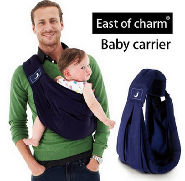 5 Color 5 in 1 Cotton Horizontal Baby Carrier Sling Classic Kid Activity Gear Portable Backpack