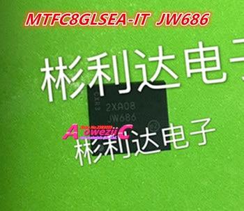 Aoweziic  100% new original   MTFC8GLSEA-IT  JW686  MTFC8GLSEA   MTFC8GLVEA-4M IT  JW824  MTFC8GLVEA  BGA  Memory chip 8G