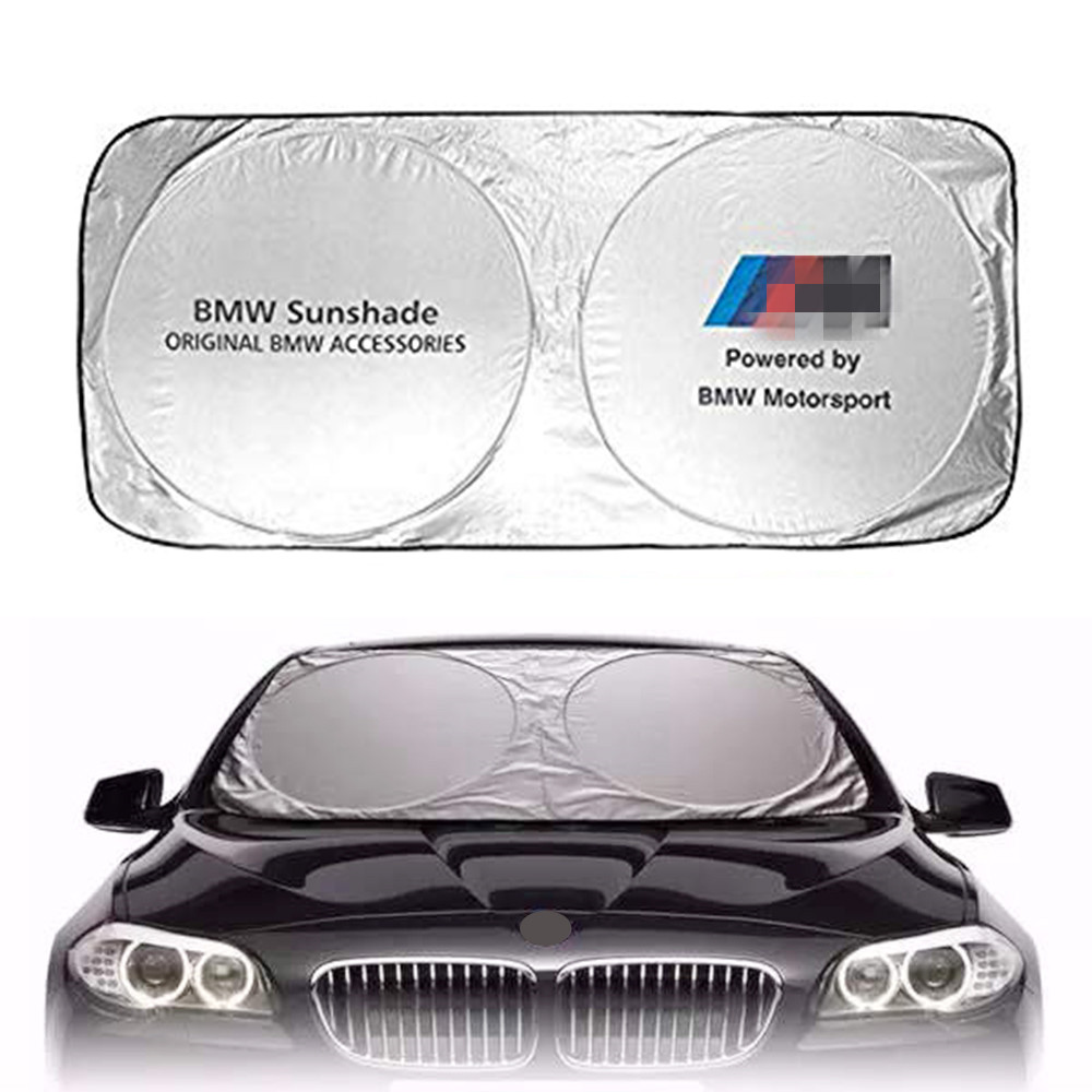 Car Front Windshield Sunshade For BMW F30 F10 F20 E60 E61 E91 E92 E93 F07 G30 X1 X3 X4 Protection Shield Visor Cover Accessories image