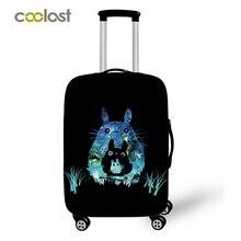 Galaxy тележки чемодан защитная Чехлы для мангала эластичные Путешествия Чехол кошка эскиз Чемодан крышка чемодан 70 см Туристические товары