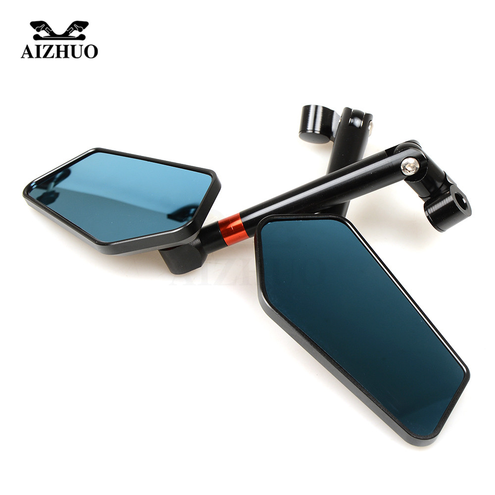 Motorcycle Rearview Mirrors CNC Aluminum Universal Side Mirrors For Suzuki V-Strom 1000 650 SV650 SV 650 Yamaha NMAX VMAX Honda motorcycle clutch wire adjustment cable cnc aluminum m8 m10 for suzuki gsr 600 750 sv 650 1000 sv1000 dl650 v strom 650 1000