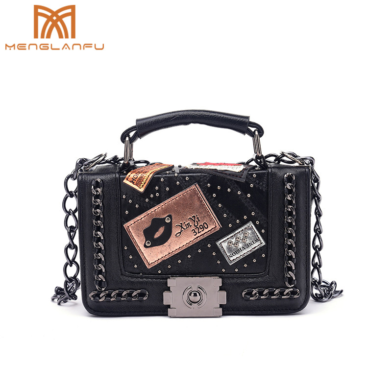Women Small Chain messanger bag Fashion Ladies leather Flap shoulder bag handbag Design Crossbody bags for girls Black/Pink/Gray lacattura small bag women messenger bags split leather handbag lady tassels chain shoulder bag crossbody for girls summer colors