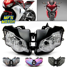 Фара для 08-11 Honda CBR1000RR CBR 1000 RR мотоцикл спереди сборки лампы Верх головного света Корпус 2008 2009 2010-2011