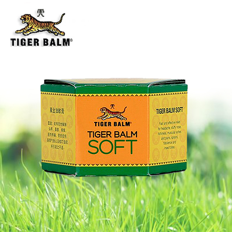 Tiger Balm Soft Ointment For Individuals With Headache,stuffy Nose, Itchiness(50g)
