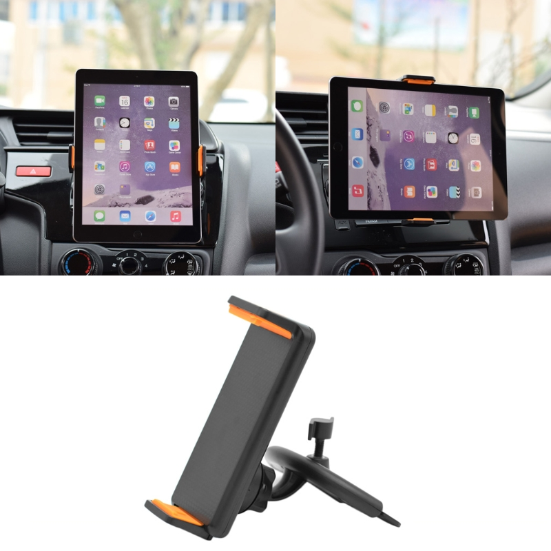 Universal 360 Degree Rotation Car CD Slot Mount Holder Stand For Phone Tablet