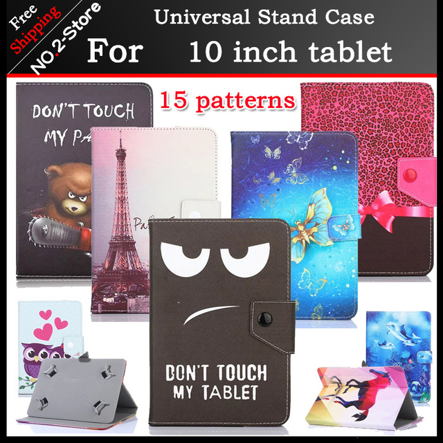 Universal cartoon stand cover case for Hi9 air 10.1inch Tablet,Protective Shell for onda X20 15 kinds of patterns+3 gifts