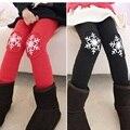 2016 Meninas de Inverno Calças de Veludo Engrossados Leggings Para Crianças Meninas Calças De Neve Calças Crianças Calças Crianças Outono Inverno