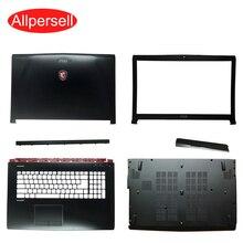 Caso do portátil para msi ge62 capa superior/quadro de tela/palmrest caso/escudo inferior/capa articulada/capa de acionamento óptico