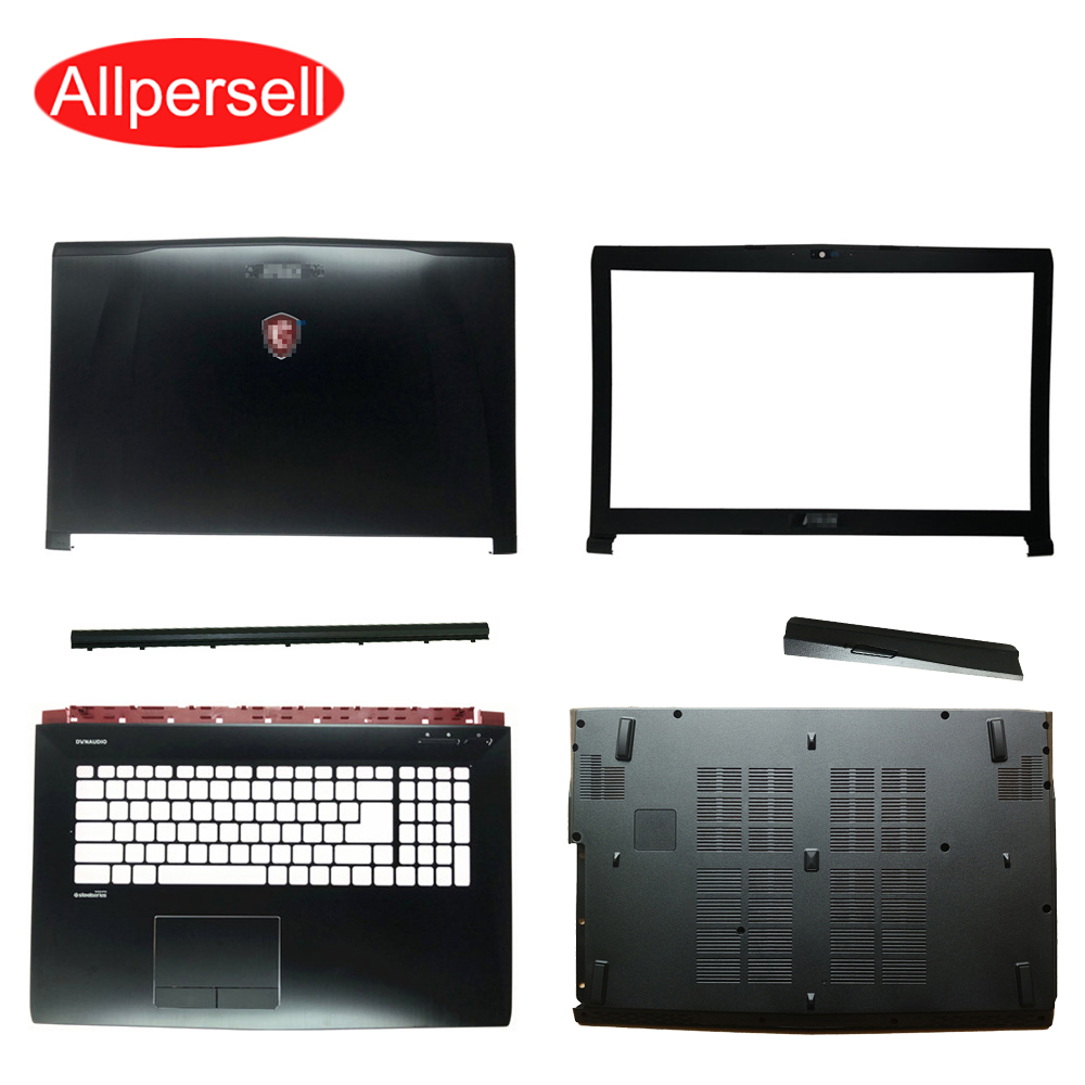 Laptop Case For MSI GE62 Top Cover/ Screen Frame /palmrest Case/bottom Shell/Hinged Cover/optical Drive Cover