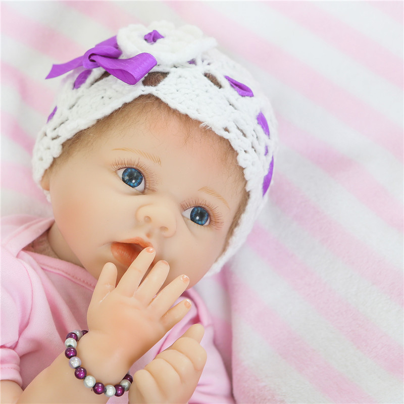 22 doll reborn baby toys for children gift cotton body silicone reborn babies real bebe alive menina reborn bonecas22 doll reborn baby toys for children gift cotton body silicone reborn babies real bebe alive menina reborn bonecas