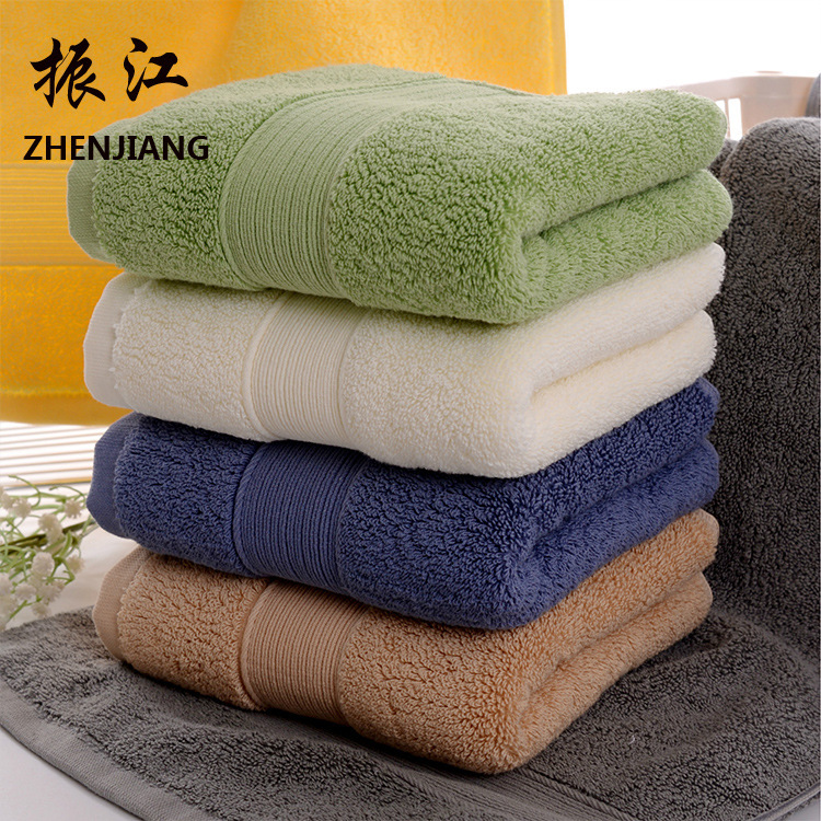 Home home textile comfortable towel, cross border pure cotton thickening towel, hotel supermarket gift wholesale-in Storage Bags from Home & Garden
