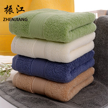 Home home textile comfortable towel, cross border pure cotton thickening towel, hotel supermarket gift wholesale