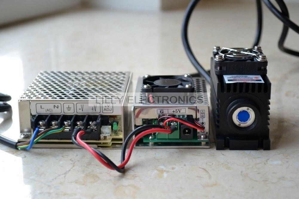 Adjustable Lab 808nm 2000mw 2W IR Infrared Laser Dot Module Analog TEC Cooling