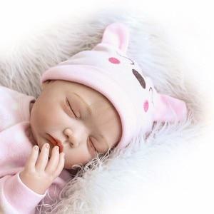 Image 2 - NPK 55cm Soft Body Silicone Reborn Baby Dolls Toy For Sale Best Gift For Girl Kid Girls Newborn NPK Babies