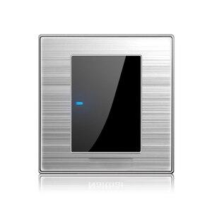 Image 5 - Штепсельная розетка 86, с матовым светодиодом, из нержавеющей стали, Германия, Франция, США, Великобритания