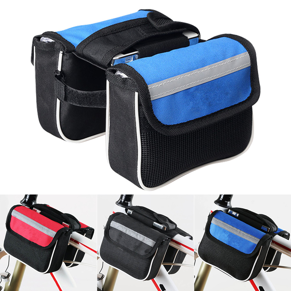 Bicycle Accessories Waterproof Mtb Bicycle Bag Large Triangle Battery Bag 39*34*26 Storage Lectric To Be Highly Praised And Appreciated By The Consuming Public Cycling