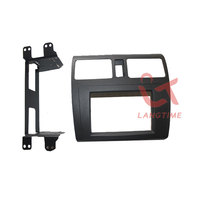 Free shipping car refitting dvd frame front bezel audio panel fascia for 08 09 SUZUKI SWIFT,2DIN(with ventilization)