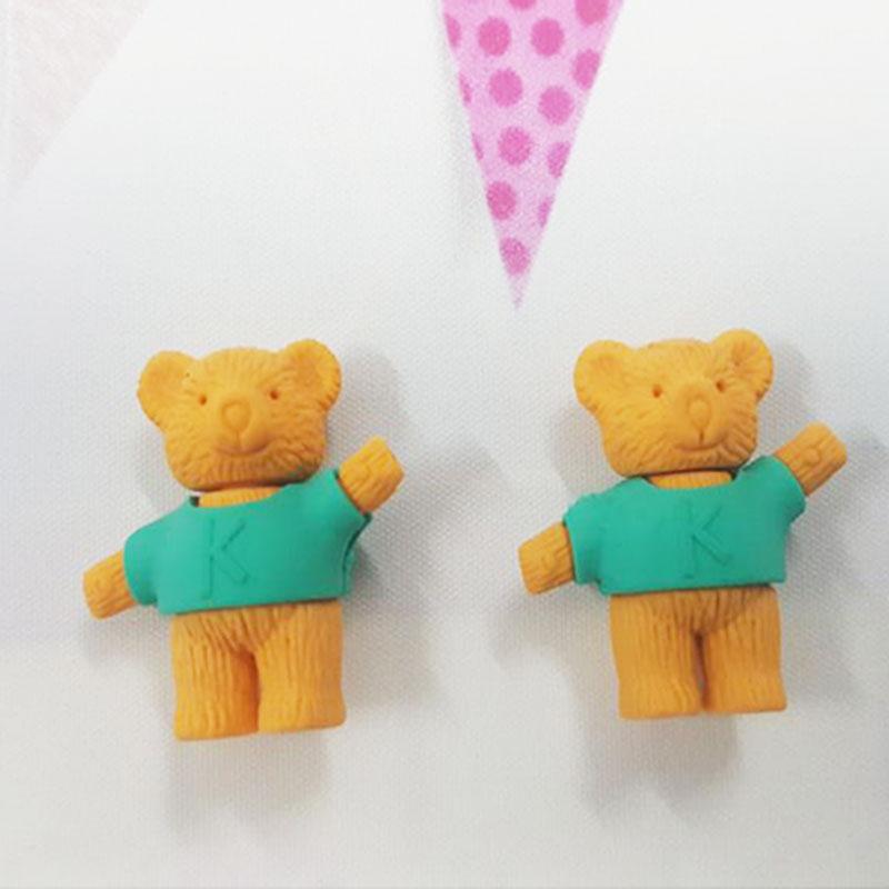Купить с кэшбэком Little animal Rubber Erasers kawaii school office erasers supplies papelaria  child Learning Correcting stationery