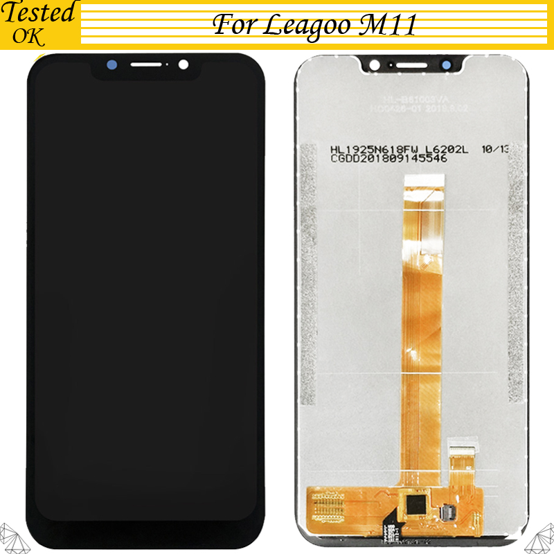 For Leagoo M11 LCD Display And Touch Screen Assembly New Replacement For Leagoo M11 LCD Digital Accessory