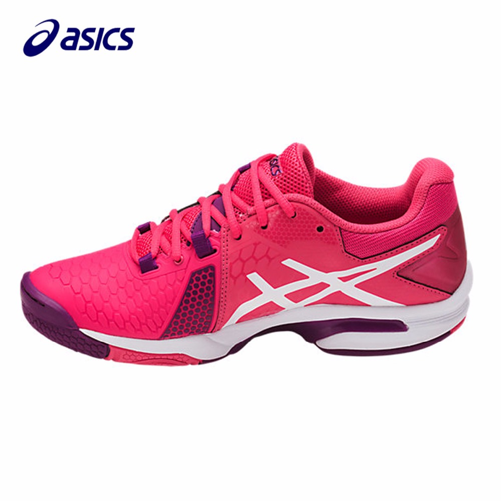 Orginal ASICS  New Women Running Shoes  Breathable Stable Shoes outdoor Tennis shoes classic Leisure Non-slip E658Y-1901