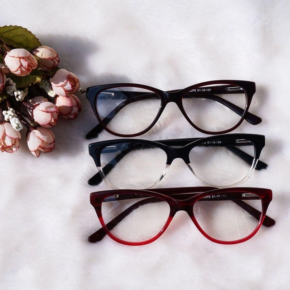 Bekleidung Zubehör Herren-brillen Neue Ankunft Entwickelt Student Brillen Acetat Teenager Gafas Hochwertige Cat Eye Schule Mädchen Brillengestell Angenehm Im Nachgeschmack