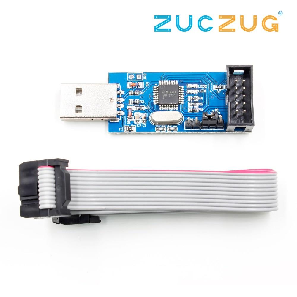 USB ISP Programmer For AVR ATMega ATTiny 51 AVR Board ISP Downloader