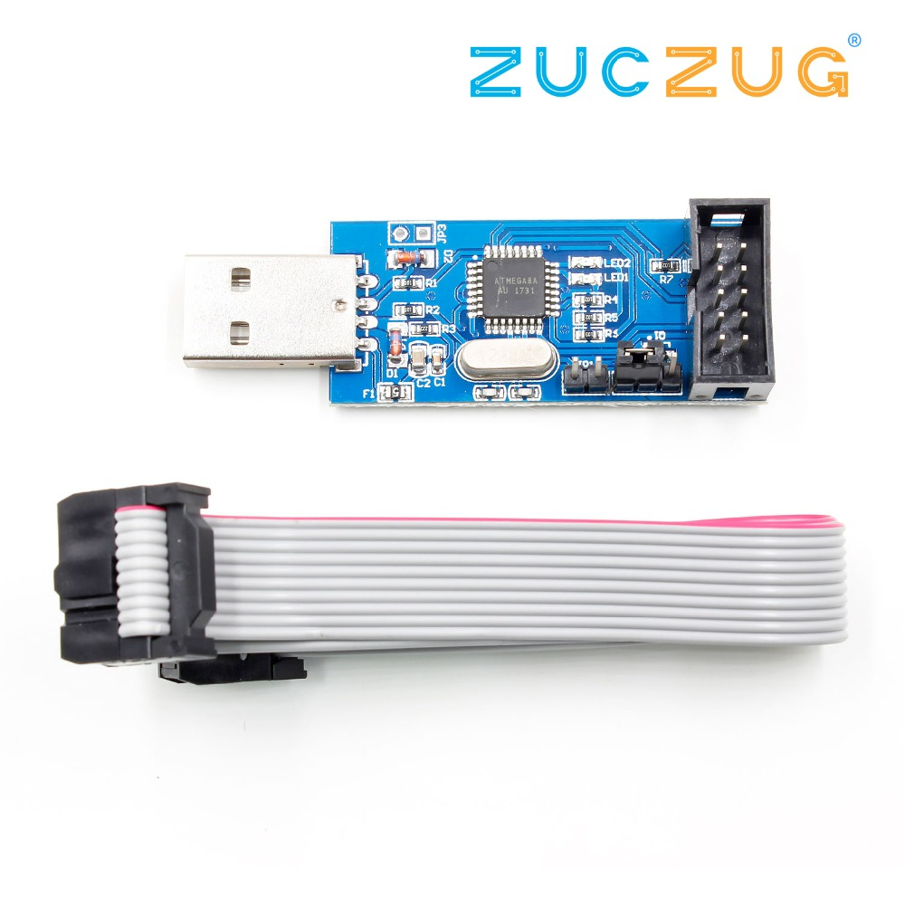 USB ISP Programmer for AVR ATMega ATTiny 51 AVR Board ISP Downloader