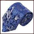 Brocade empate brocado estilo chino regalos extranjero para hombre caja de regalo corbata de seda de los hombres lazos establece mens corbatas de alta calidad
